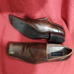 Giorgio Brutini Brown Leather  Slip-On shoes